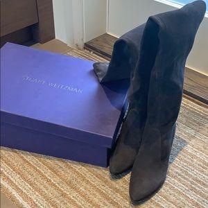 Brand New Stuart Weitzmam Over the Knee Boots